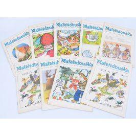 Sbírka časopisů Mateřídouška 9 ks