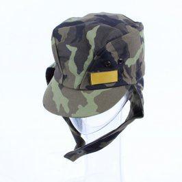 Vojenská čepice s ušima Otavan Třeboň