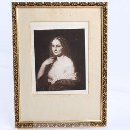 Portrét mladé ženy - kopie