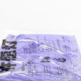 Lampión štěstí fialový 34 x 36 cm