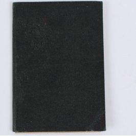 Průkazka sociálního pojištění z roku 1935