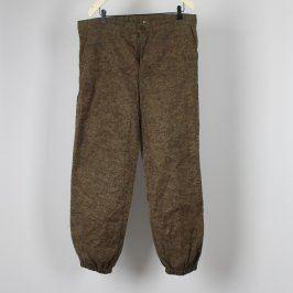 Pánské kalhoty OTAVAN Třeboň zelenohnědé