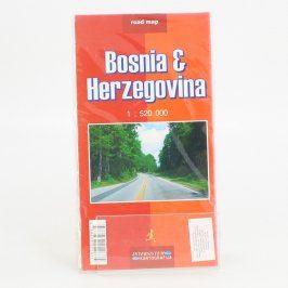 Silniční mapa Bosna a Hercegovina 1 : 520000