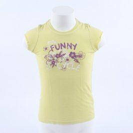 Dětské tričko TCM žluté Funny Cycle