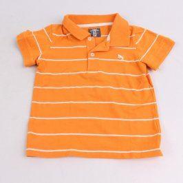 Dětské polotričko H&M oranžové s pruhy