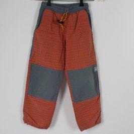 Dětské outdoor kalhoty Rejoice oranžové