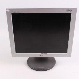 LCD monitor LG Flatron L1730S černošedý