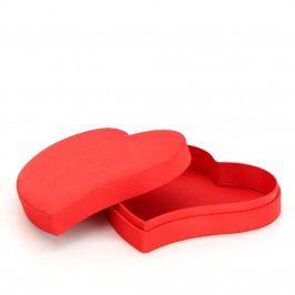 Dárková krabička ve tvaru srdce