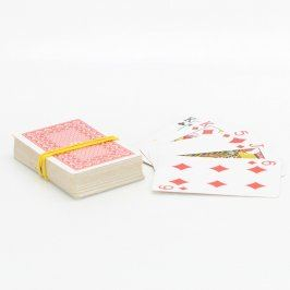 Hrací karty na Canastu 54 ks