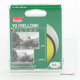 Barevný filtr Kenko Y2 žlutý 62 mm