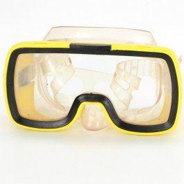 Potápěčské brýle žlutočerné