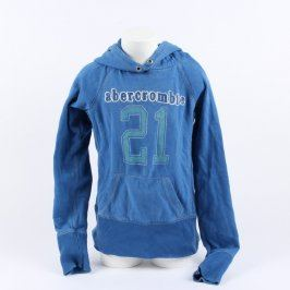 Dětská mikina Abercrombie & Fitch modrá