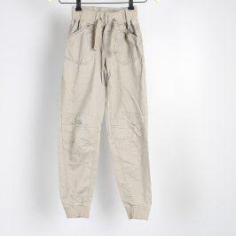 Dětské plátěné kalhoty Dognose béžové
