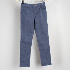 Dětské kalhoty H&M tmavě modré