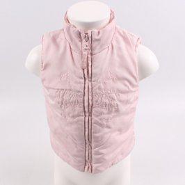 Dětská vesta Cherokee růžová