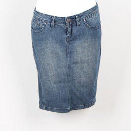 Dámská džínová sukně Mango modré