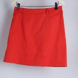 Dámská sukně Amisu odstín červené
