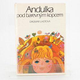 Dětská knížka Andulka pod barevným kopcem