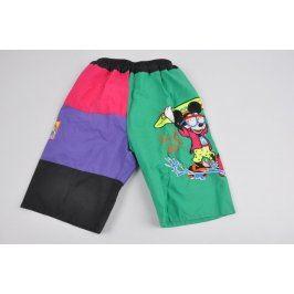 Dětské šortky s Mickey Mousem