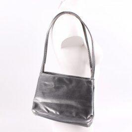 Dámská kabelka odstín šedé a stříbrné