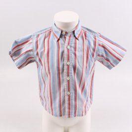 Dětská košile Giggy Matarello modrá s pruhy