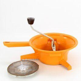 Ruční otočné struhadlo oranžové