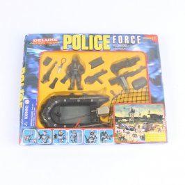 Plastové figurky Policie Force