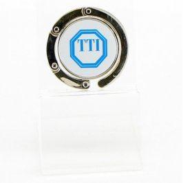 Háček na kabelku TTI skládací