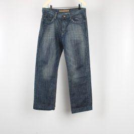 Pánské džíny Revival odstín modré