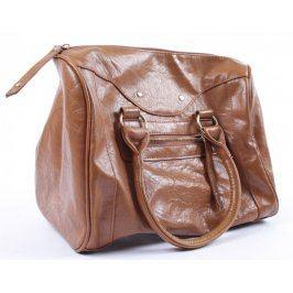 Dámská kabelka do ruky hnědá