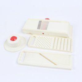 Multifunkční struhadlo bílé