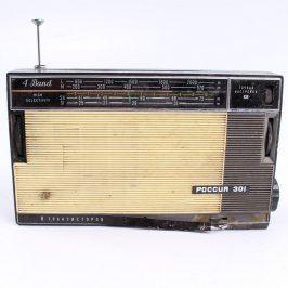 Transistorový příjímač ROSSIJA 301
