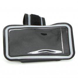 Pouzdro na ruku černé s šedým pruhem