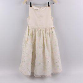 Dětské šaty American Princess béžové