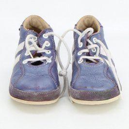 Dětské kotníkové boty Pegres modré