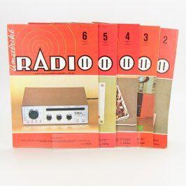 Sada časopisů Amatérské radio z roku 1986