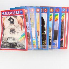 Sbírka časopisů Medium 9 ks