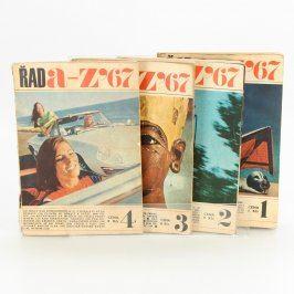 Sbírka časopisů A-Z Magazín 1, 2, 3, 4/1967