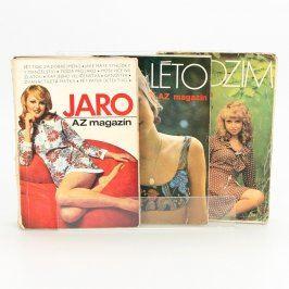 Sbírka časopisů A-Z Magazín 3 ks