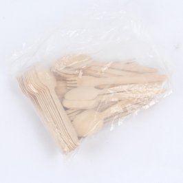 Sada příborů dřevěných 60 ks