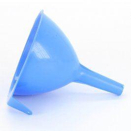 Trychtýř plastový modrý