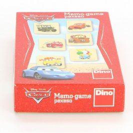 Společenská hra DINO Memo-game pexeso Cars