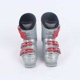 Lyžařské boty Nordica stříbrno červené