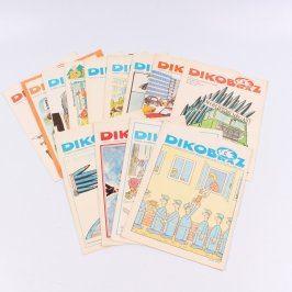 Sbírka časopisů Dikobraz z roku 1981
