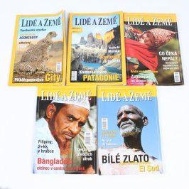 Sada časopisů Lidé a Země