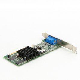 Grafická karta nVidia GeDorce 2 MX-200 AGP