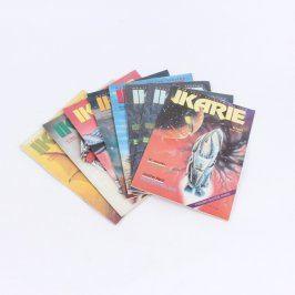 Sada časopisů Ikarie z roku 1992