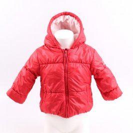 Dětská zimní bunda C&A odstín červené
