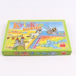 Stolní hra DINO KrisKros pro děti