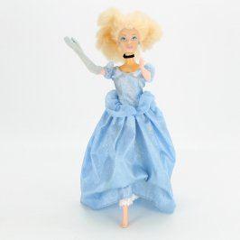Panenka Barbie plesová s modrými šaty